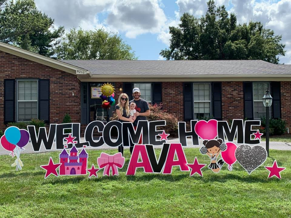 Welcome Home Ava