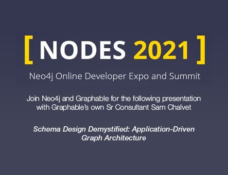 Join Graphable for Nodes 2021 online conf